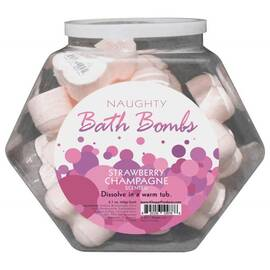naughty bath bombs fishbowl 24 pc(out early dec)