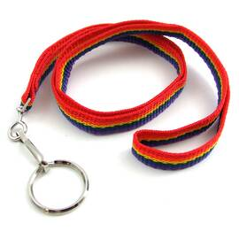 nylon lanyard w/key...