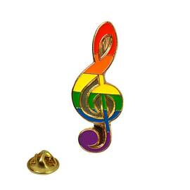 lapel pin rainbow...