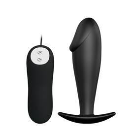 pretty love vibrating special stimulation butt plug